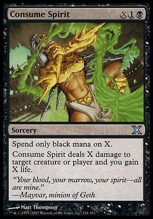 Consume Spirit | 10th Edition