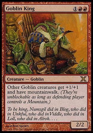Goblin King | 10th Edition