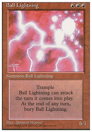 Ball Lightning | 4th Edition