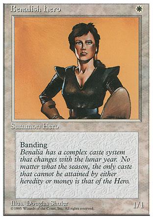 Benalish Hero   4th Edition