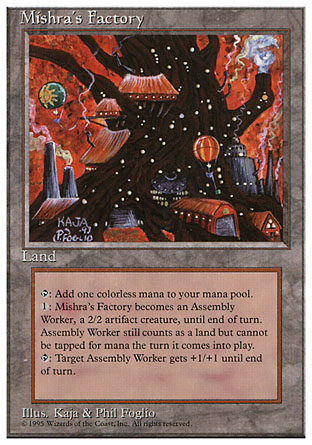 Mishra's Factory | 4th Edition
