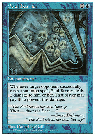 Soul Barrier | 5th Edition