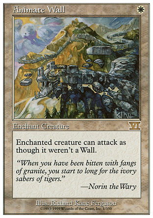 Animate Wall | 6th Edition
