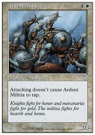 Ardent Militia | 7th Edition