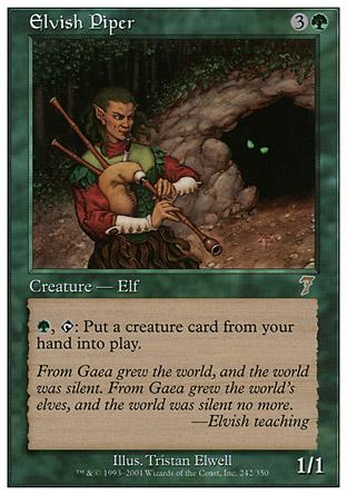 Elvish Piper | 7th Edition