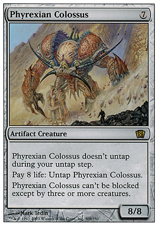 Phyrexian Colossus | 8th Edition
