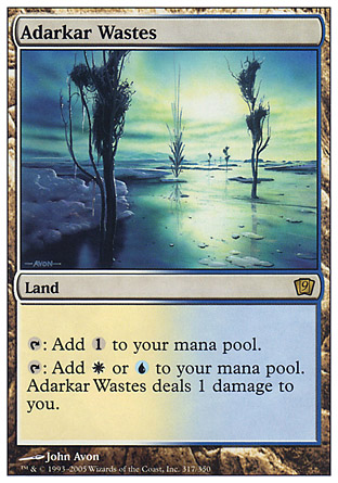 Adarkar Wastes | 9th Edition