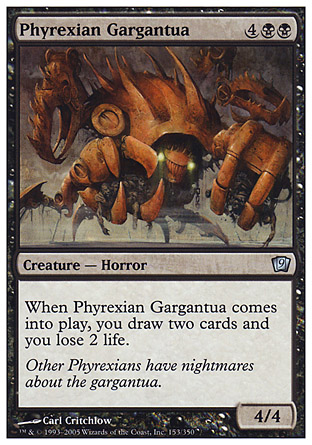 Phyrexian Gargantua | 9th Edition