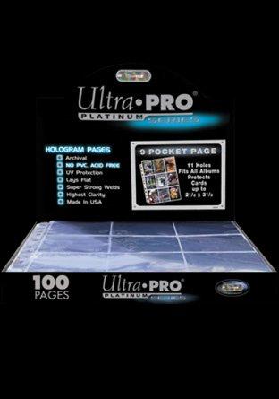Pages 9-pocket Platinum (100) | Accessoires
