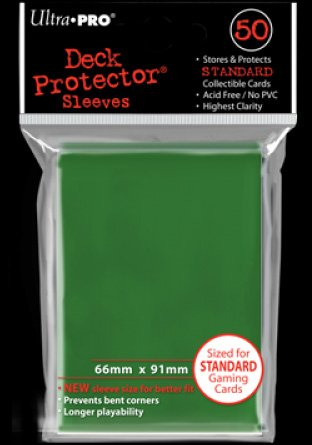 Sleeves standard Green (50) | Accessoires