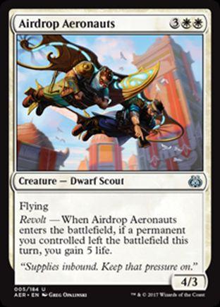 Airdrop Aeronauts | Aether Revolt