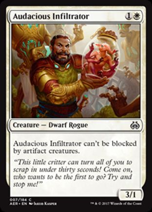 Audacious Infiltrator | Aether Revolt