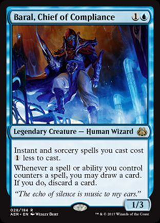 Baral, Chief of Compliance   Aether Revolt