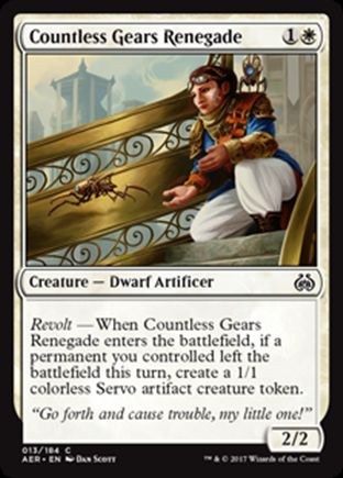 Countless Gears Renegade | Aether Revolt