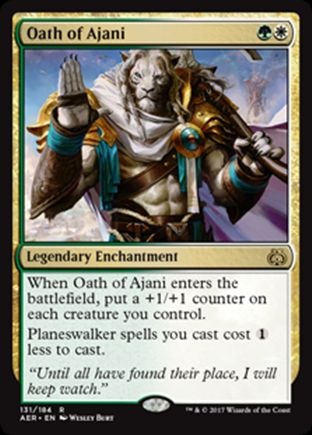 Oath of Ajani | Aether Revolt