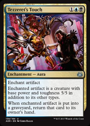 Tezzeret's Touch   Aether Revolt