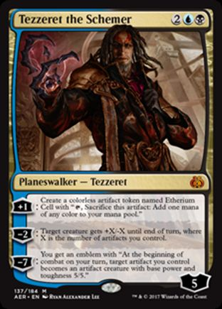 Tezzeret the Schemer | Aether Revolt