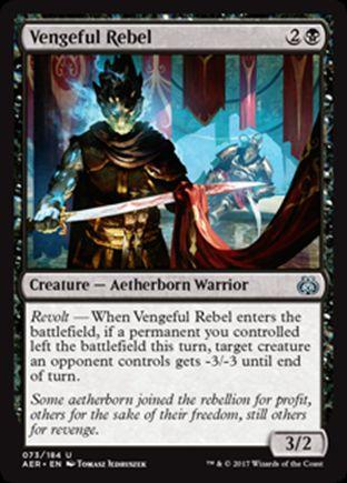 Vengeful Rebel | Aether Revolt