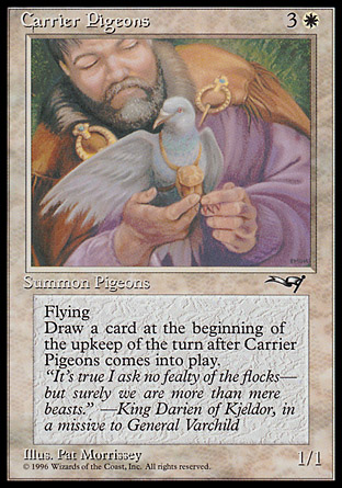 Carrier Pigeons | Alliances
