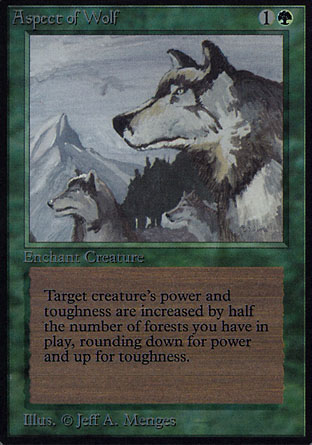 Aspect of Wolf | Alpha