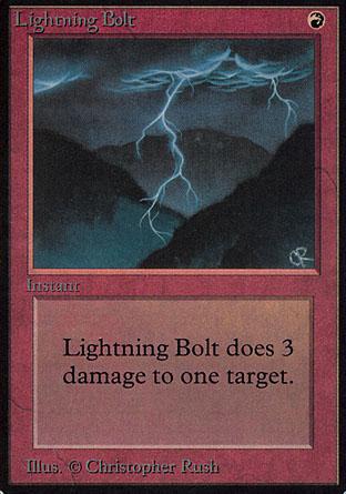Lightning Bolt | Alpha
