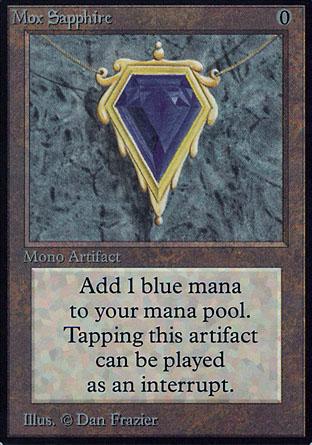 Mox Sapphire | Alpha