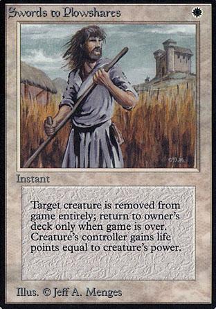 Swords to Plowshares | Alpha