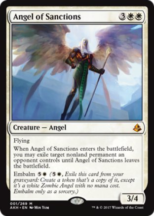 Angel of Sanctions | Amonkhet