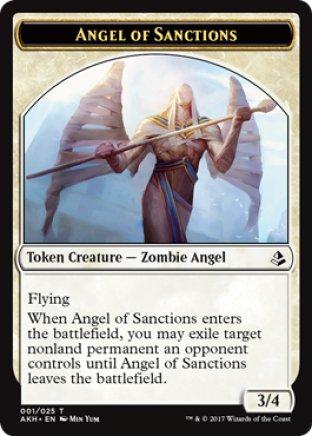 Angel of Sanctions token | Amonkhet