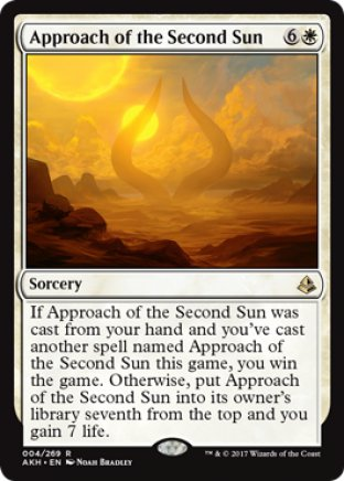 Approach of the Second Sun | Amonkhet