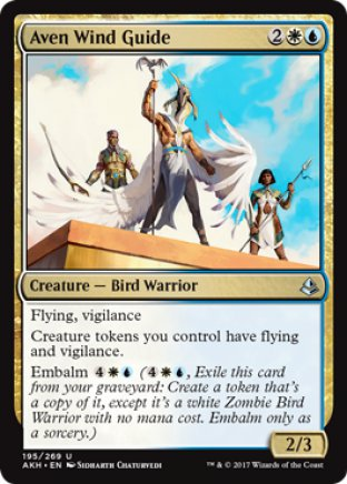 Aven Wind Guide | Amonkhet