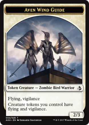 Aven Wind Guide token | Amonkhet