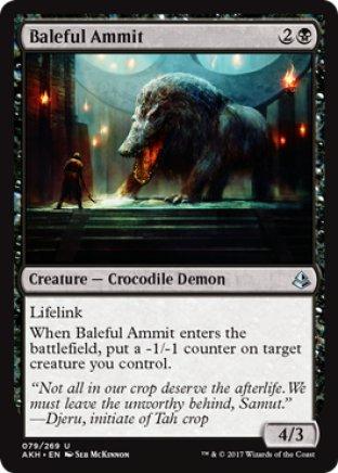 Baleful Ammit | Amonkhet