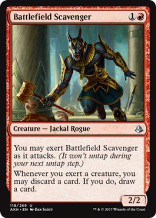 Battlefield Scavenger | Amonkhet