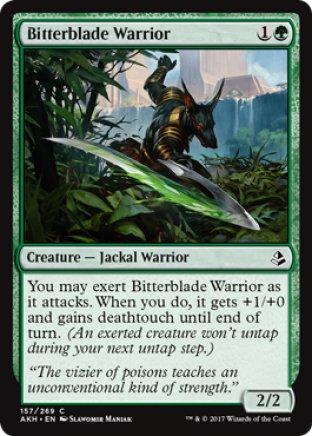 Bitterblade Warrior | Amonkhet