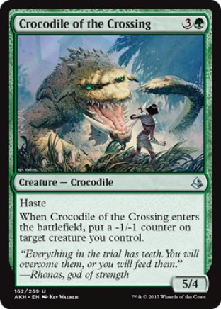 Crocodile of the Crossing | Amonkhet