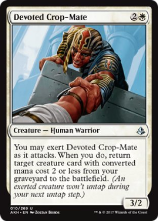 Devoted Crop-Mate | Amonkhet