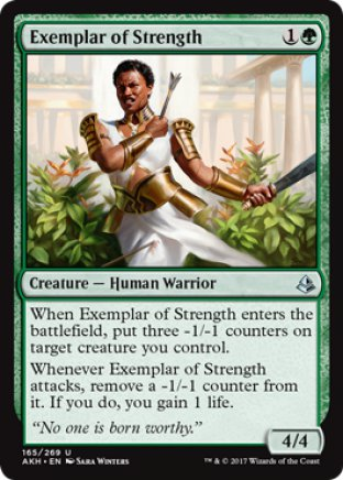 Exemplar of Strength | Amonkhet