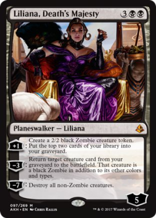 Liliana, Death's Majesty | Amonkhet