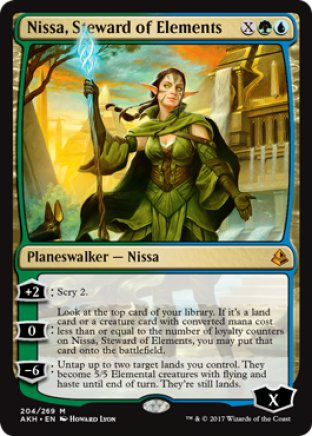 Nissa, Steward of Elements | Amonkhet