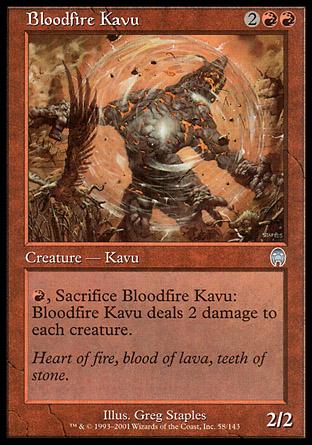 Bloodfire Kavu | Apocalypse