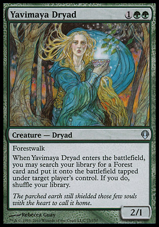 Yavimaya Dryad | Archenemy