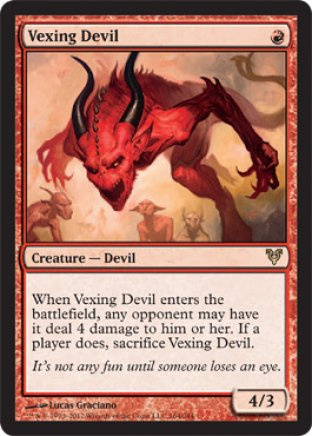 Vexing Devil | Avacyn Restored