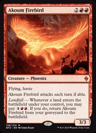 Akoum Firebird | Battle for Zendikar