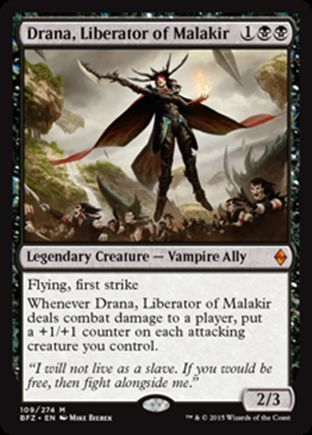Drana, Liberator of Malakir | Battle for Zendikar
