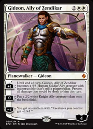 Gideon, Ally of Zendikar | Battle for Zendikar