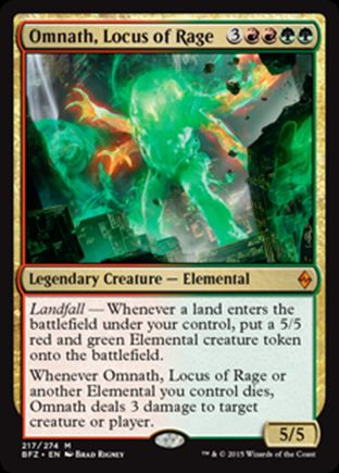 Omnath, Locus of Rage | Battle for Zendikar