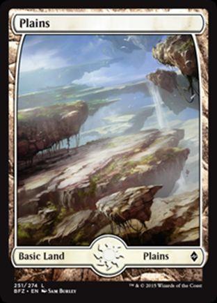 Plains   Battle for Zendikar