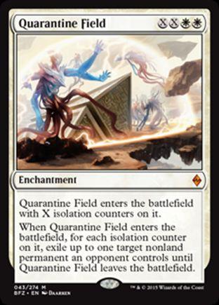 Quarantine Field | Battle for Zendikar