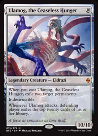 Ulamog, the Ceaseless Hunger | Battle for Zendikar